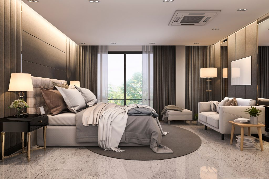Decor Essentials For The Master Bedroom - Pick the right window treatment