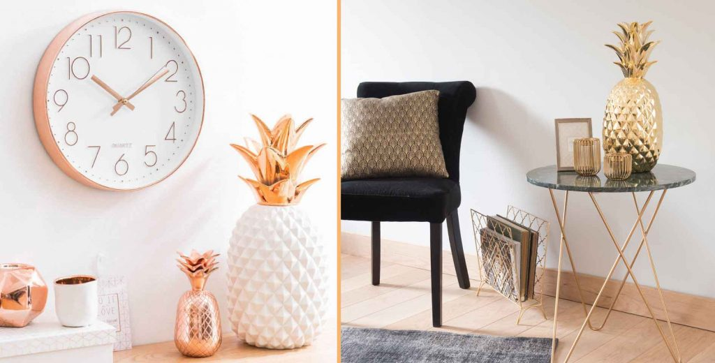6 Ways to Decorate with Pineapple Print - Artifacts & Accessories