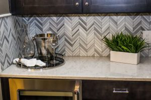 Wallpaper Ideas for your home - Revamp your kitchen backsplash
