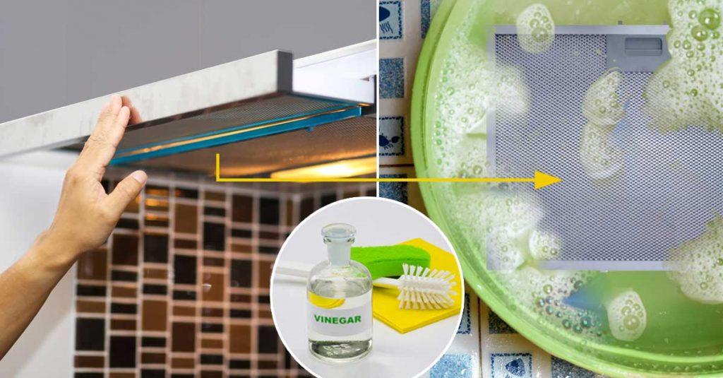 How to Clean a Kitchen Chimney - Vinegar