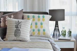 6 Ways to Decorate with Pineapple Print - Linen