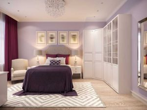 7 Ideas to Decorate with Lilac - spruce up your guest bedroom