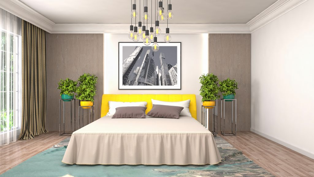 Decor Essentials For The Master Bedroom - Add Wall art