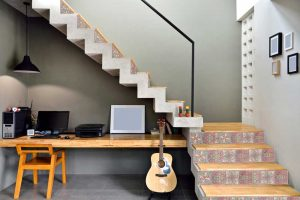 Wallpaper Ideas for your home -Embellish an ordinary staircase