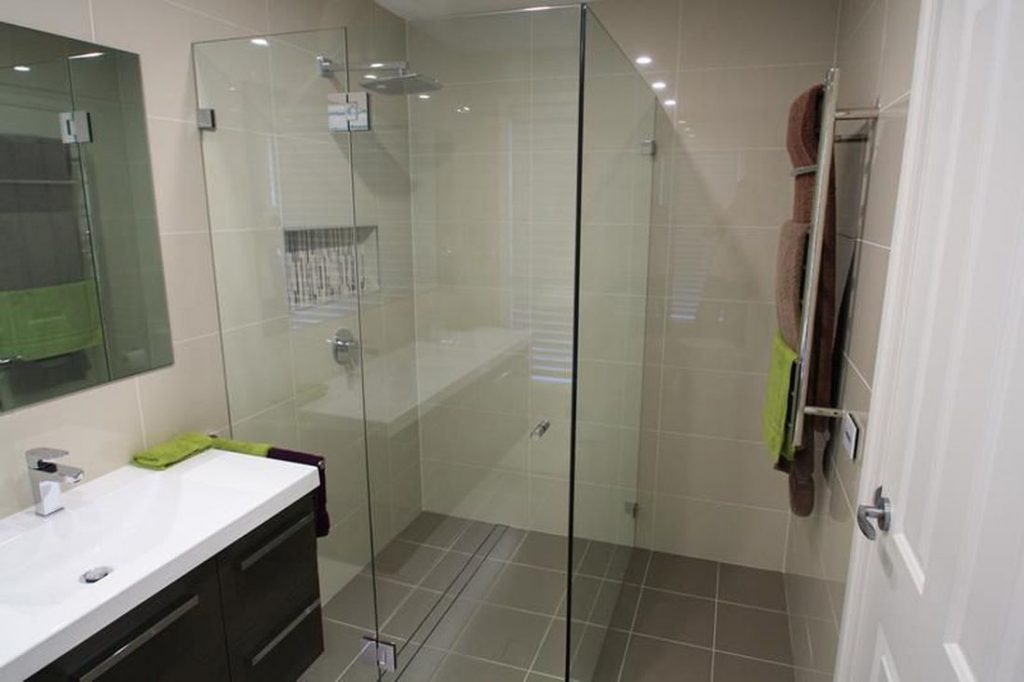 Wiping Shower Walls After A Shower