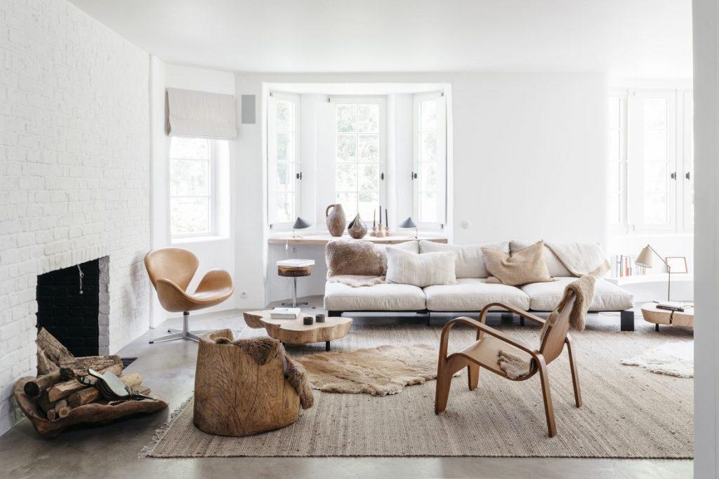 Belgian Style Decor with Plenty Of Texture