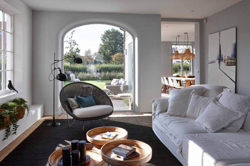 Belgian Style Decor with Cozy Fabrics