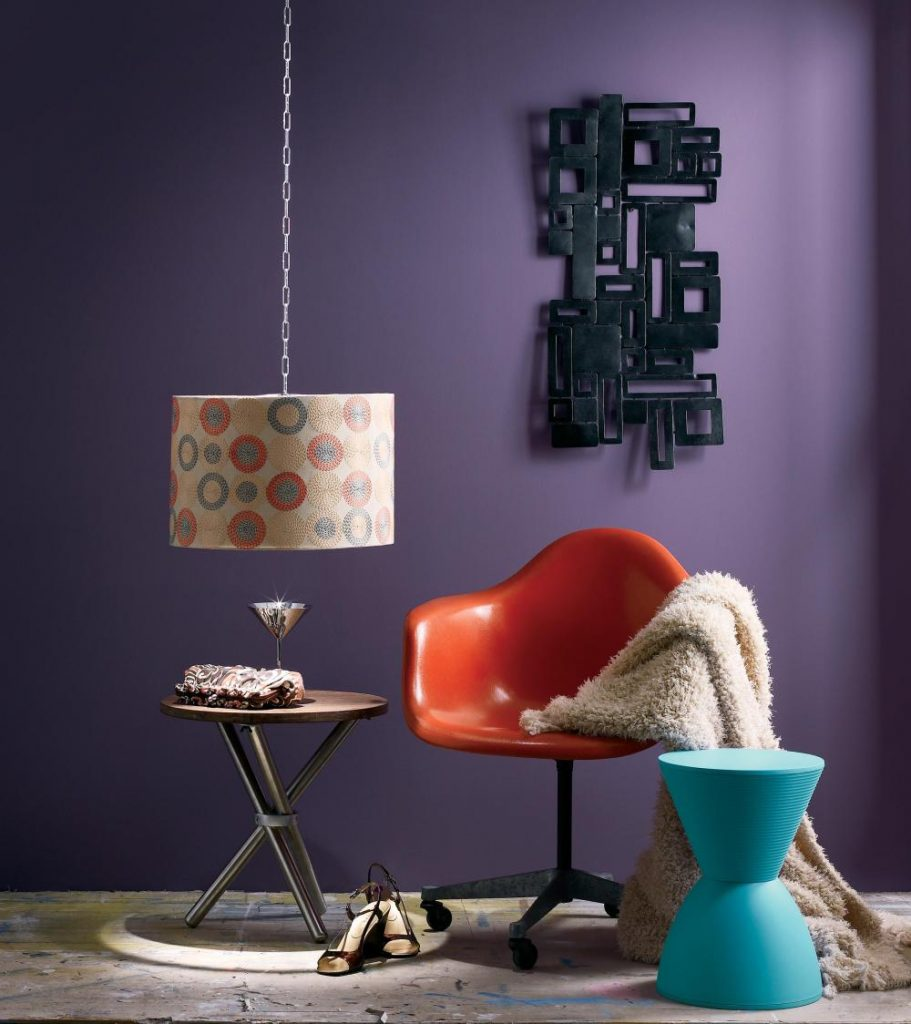 How The Purple Color Of A Room Affects Your Mood