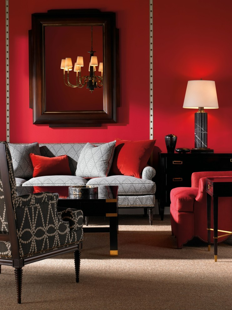 How The Red Color Of A Room Affects Your Mood