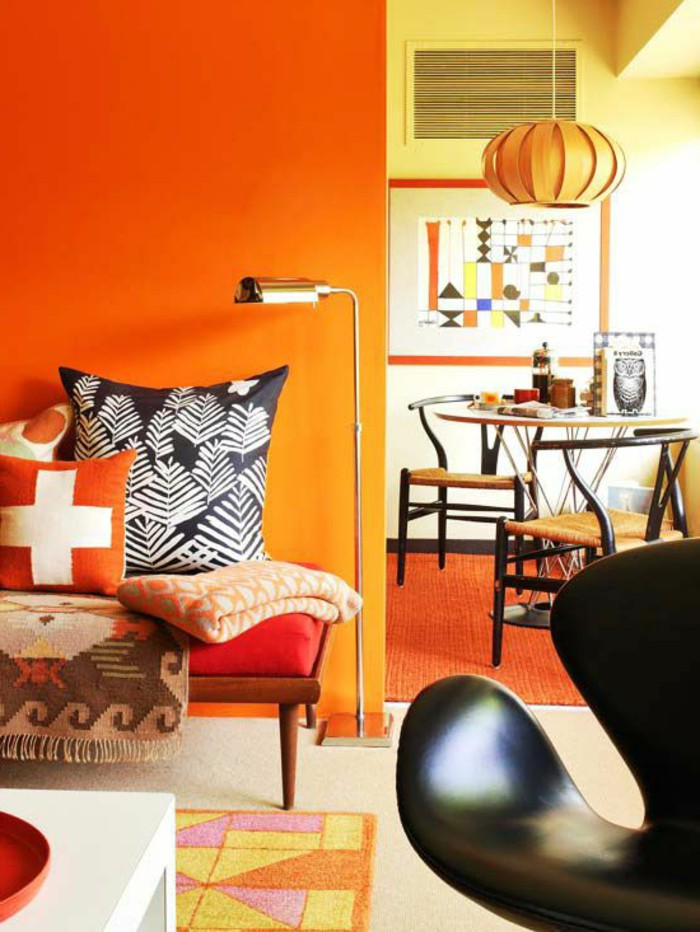 How The Orange Color Of A Room Affects Your Mood