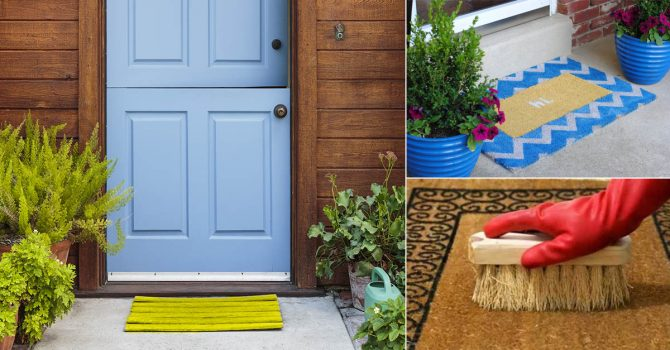 How to Clean a Doormat