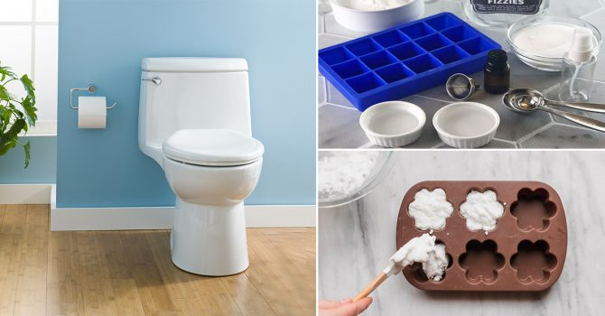 How To Make Homemade Toilet Cleaning Bombs
