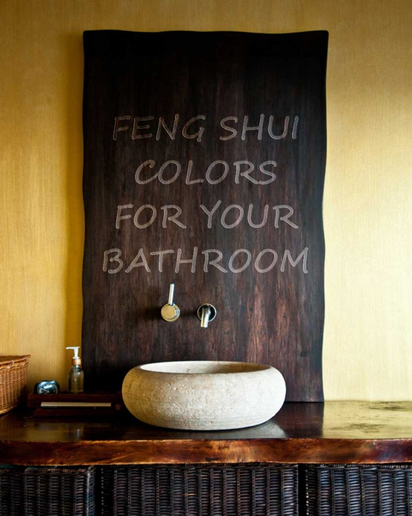 Feng Shui Colors For Your Bathroom