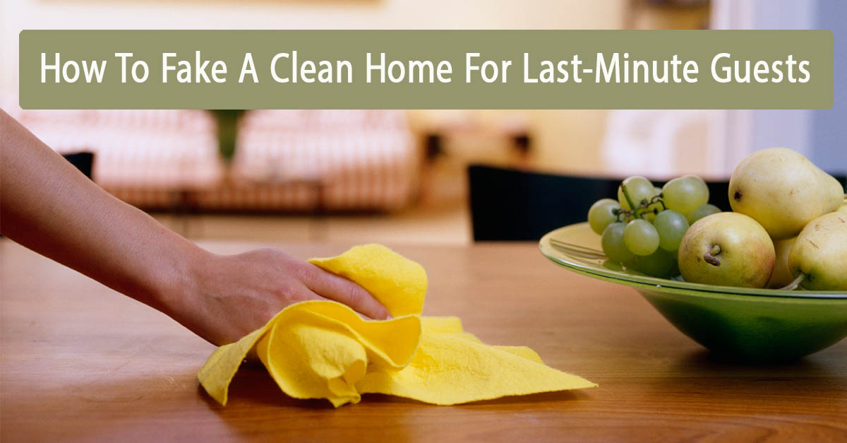 Last-Minute Home Cleaning