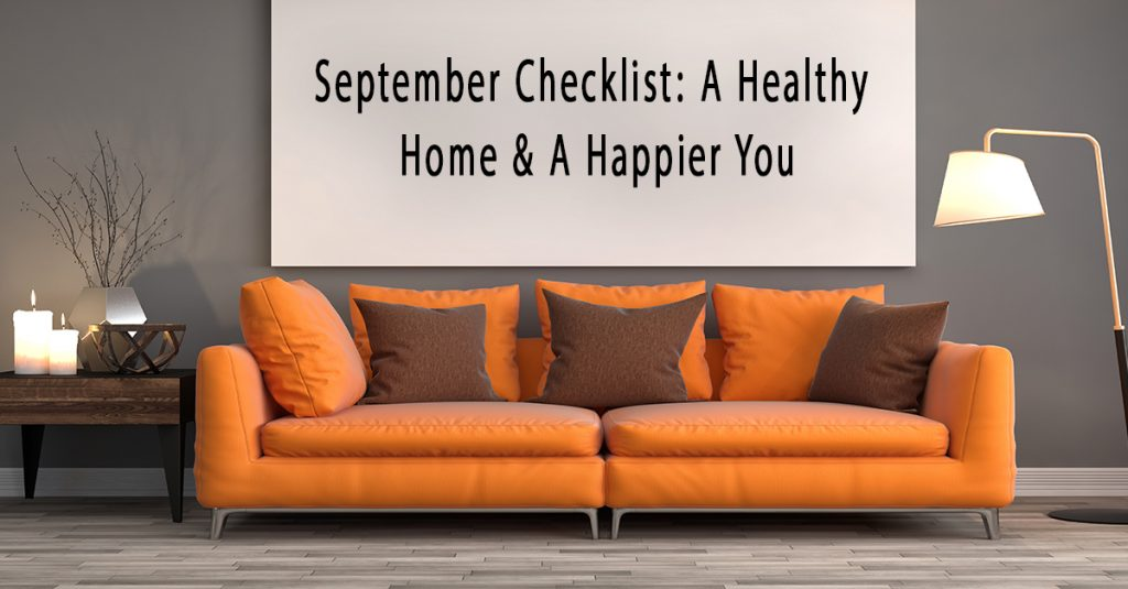 September Household Checklist