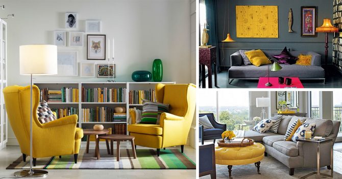 Décor Instincts: Colors That Go Well With Yellow