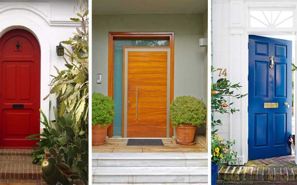 Make A Bold Statement With Your Front Door