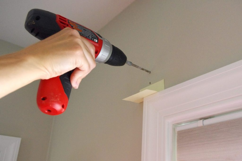 Home Hacks You Must Try Drill A Hole Without Making A Mess