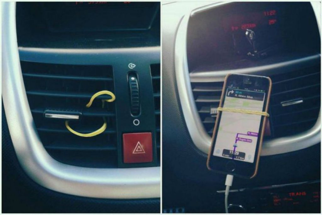 Home Hacks You Must Try DIY A Car Cellphone Holder