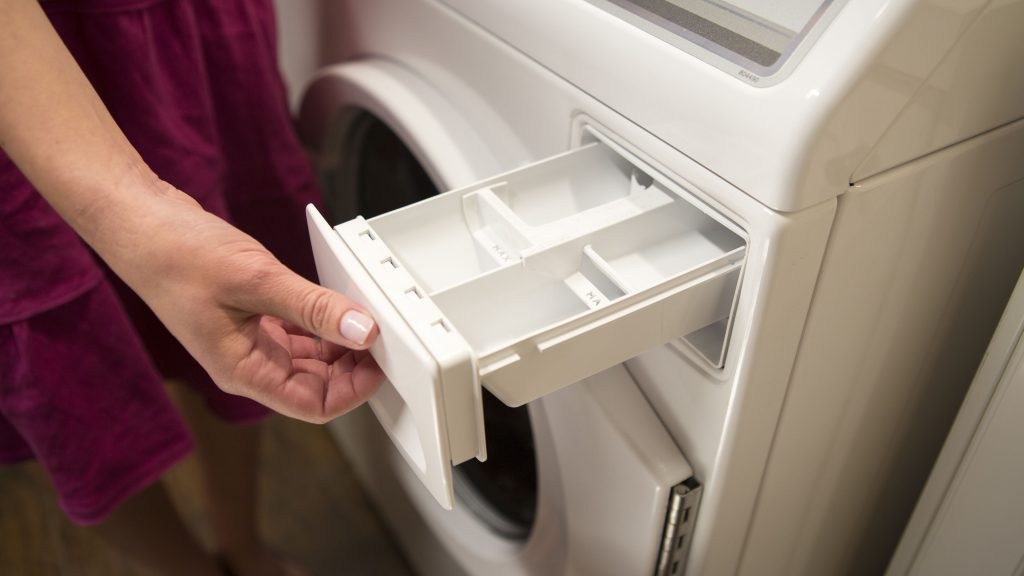 How To Clean Your Front-Loading Washing Machine Tackle The Dirty Detergent Tray