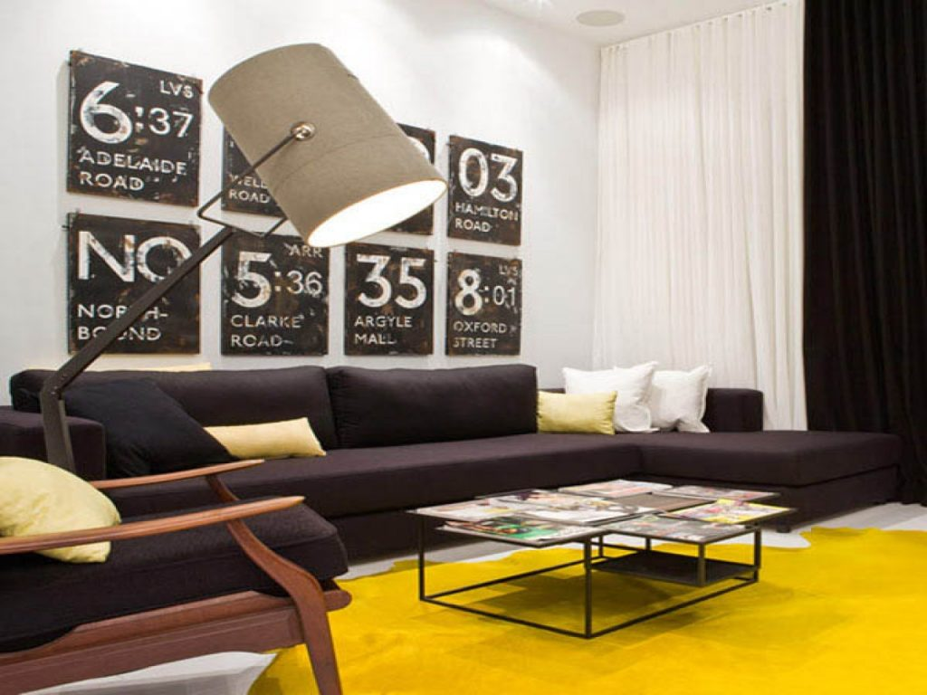 Décor Instincts: Colors Yellow & Black
