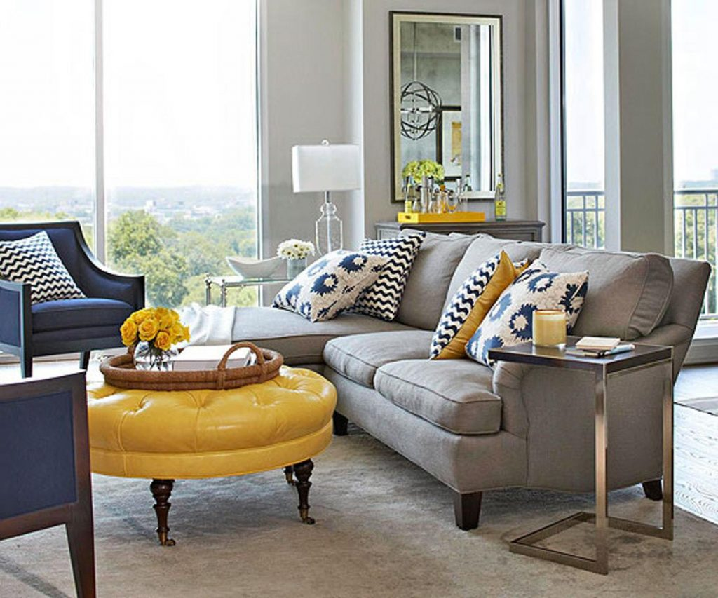 Décor Instincts: Colors Yellow & Gray