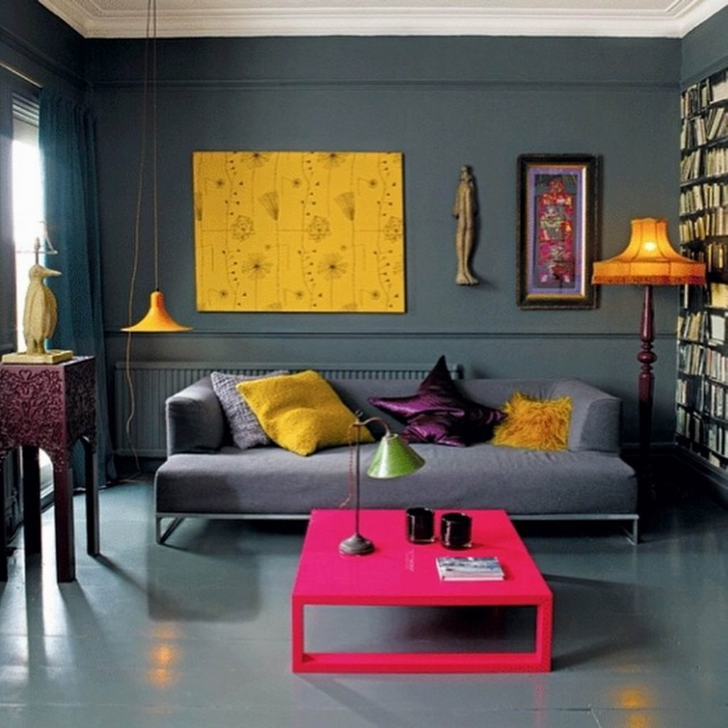 Décor Instincts: Colors Yellow & Fuchsia