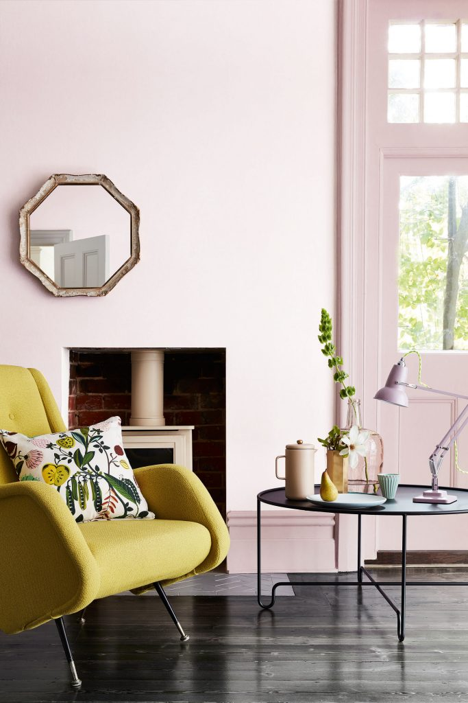 Décor Instincts: Colors Yellow & Pale Pink