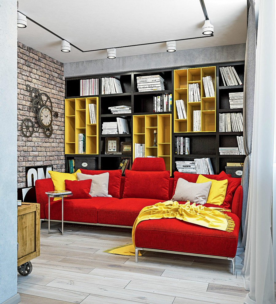 Décor Instincts: Colors Yellow & Red