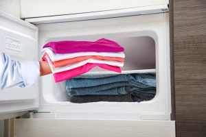 7 Ways To Get Rid Of Static Charge From Clothes - Put them in the freezer