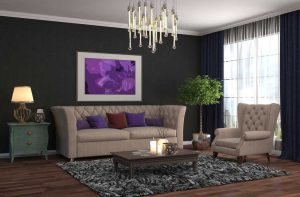 How To Decorate With Dark Hues - Brighten it up with light