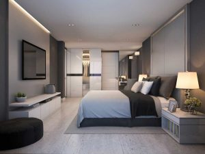 Bedroom Decorating Rules - Keep scale in mind