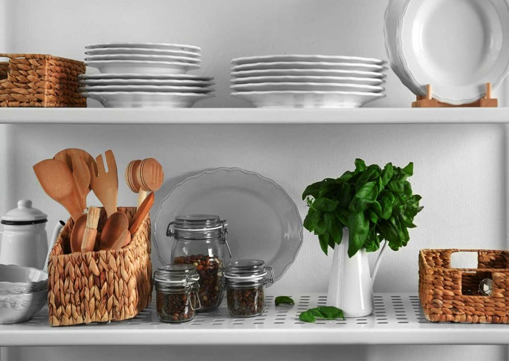 How To Style Open Kitchen Shelves