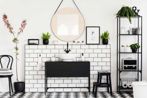 9 Ingenious Tips To Give Your Bathroom A Glamorous Face-Lift - Contain yourself