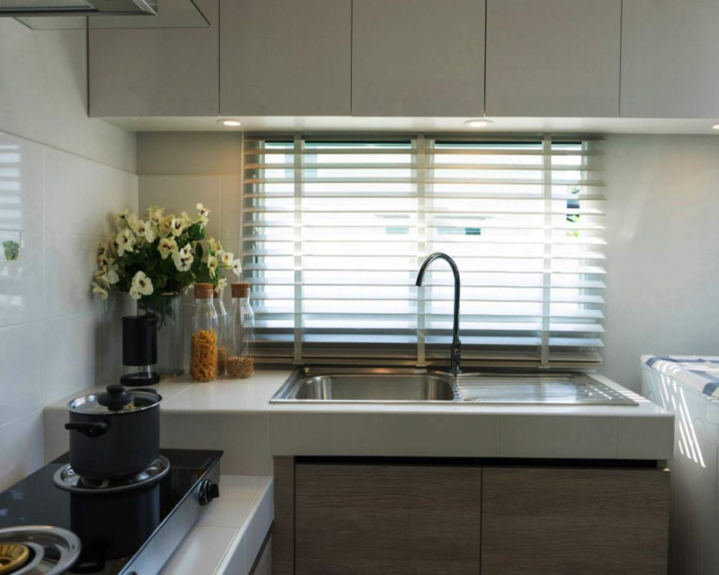 6 Kitchen Window Treatment Ideas You Will Love - Shutters