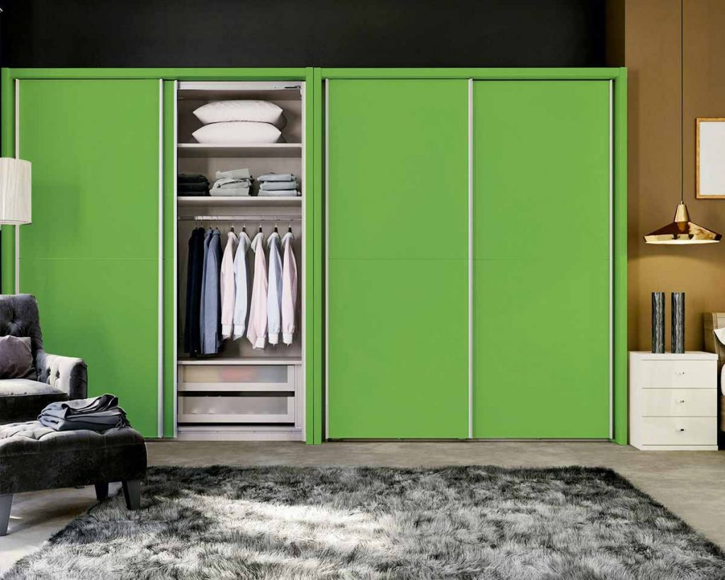 Your Guide To Different Kinds of Wardrobes - Sliding door