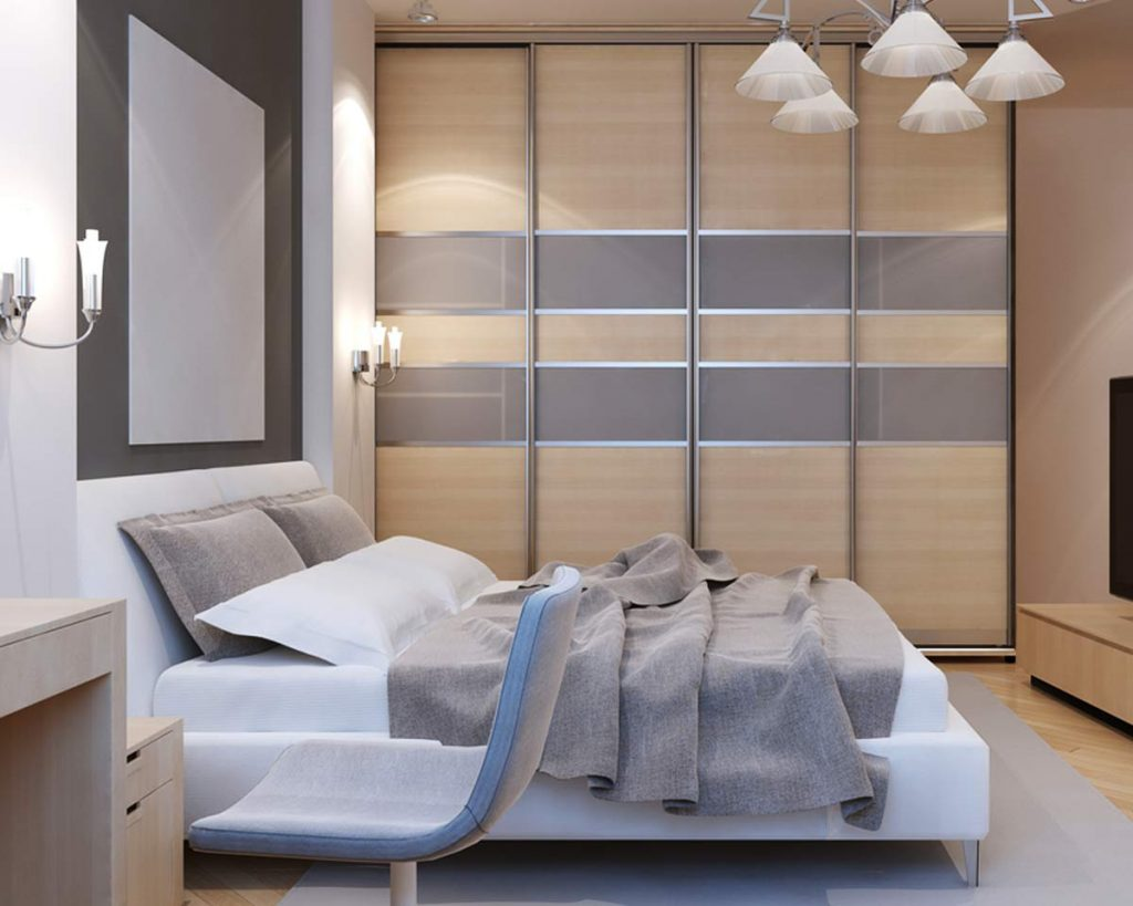 Your Guide To Different Kinds of Wardrobes - Wall to wall wardrobe