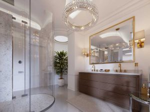 9 Ingenious Tips To Give Your Bathroom A Glamorous Face-Lift - Sprinkle some copper