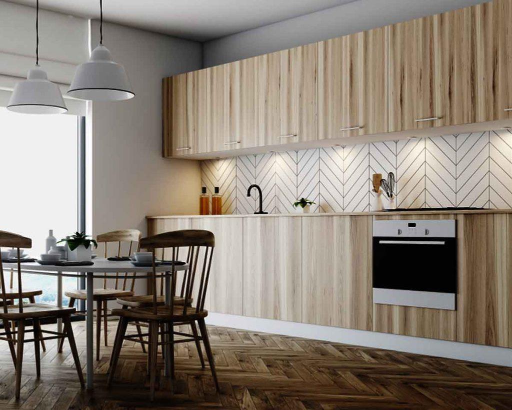 Creative Kitchen Backsplash Materials