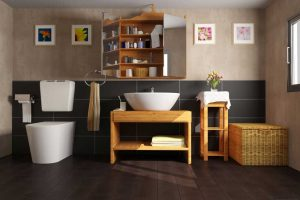 9 Ingenious Tips To Give Your Bathroom A Glamorous Face-Lift - Hang artwork