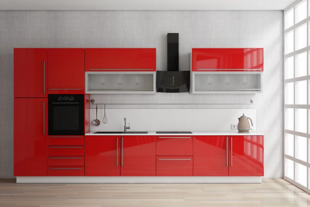 Extension of Backsplash Kitchen